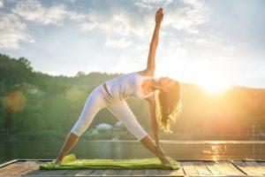 Yoga minimal Covid stress